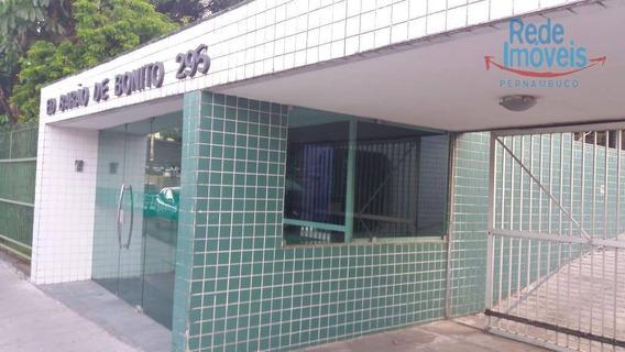 Apartamento Com 3 Dormitórios À Venda, 110 M² Por R$ 390.000,00 - Graças - Recife/pe - Ap9291