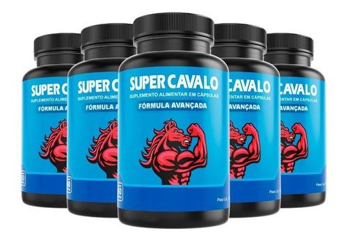 Super Cavalo - O Mais Efetivo Do Mercado - Kit 5
