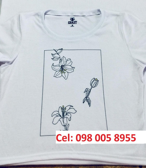 Camisetas Sublimación Tacto Grueso Algodón $3,45 X Mayor