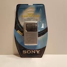 Radio Portatil Sony Originales Fm/am. Modelo Icf-s10mk2