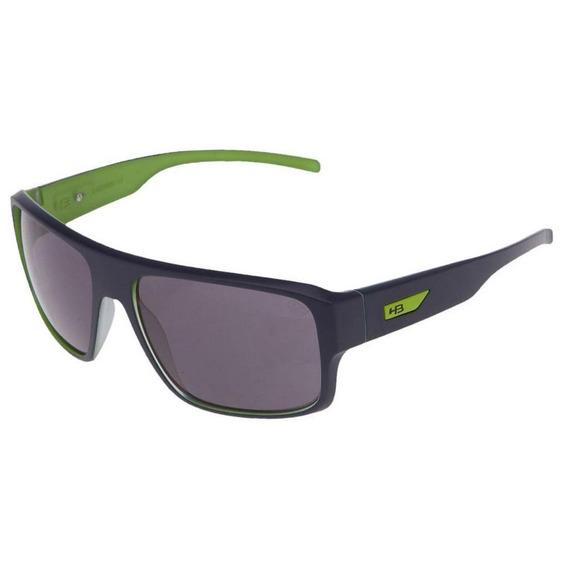Óculos De Sol Hb Redback Matte Steel Blue On Green   Gray