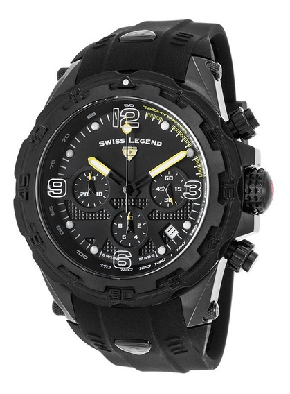 Relógio Swiss Legend Daredevil Black Chrono