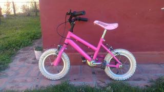 Bicicleta Halley Niña Rodado 12