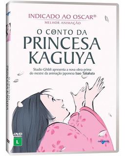 Dvd - O Conto Da Princesa Kaguya