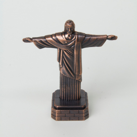 Apontador Cristo Redentor Miniatura Decorativa Festas Rio