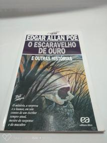Livro O Escaravelho De Ouro E Outras Historias De Edgar Poe
