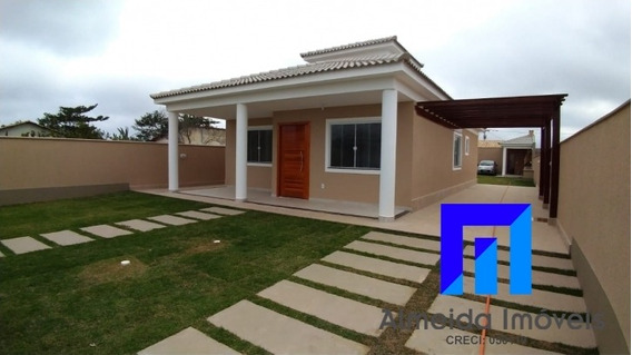 Lindíssima Casa Com 3 Qts Em Itaipuaçu!!! - Ja473