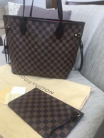 d08823cf6 Bolsa Louis Vuitton Neverfull, Pochette, Entrega Inmediata!