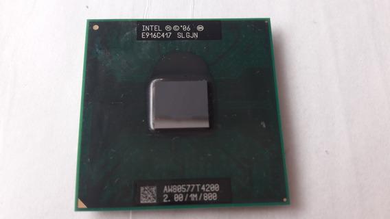 Processador Intel Mobile Dual Core T4200 2.00ghz 800 Slgjn