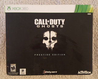 Call Of Duty Ghosts Prestige Edition Incompleta X Box 360