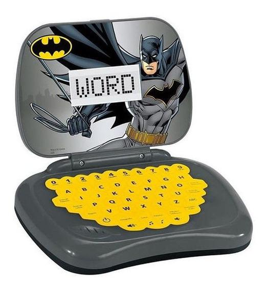 Laptop Infantil Atividades Bilíngue Dc Batman Candide 9041