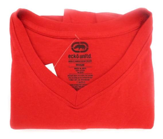 Camisa Masculina Ecko Unltd Vermelha - Original