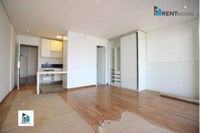 Apartamento Com 1 Dormitório Para Alugar, 41 M² Por R$ 2.500/mês - Brooklin - São Paulo/sp - Ap8463