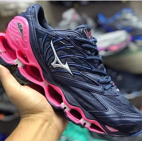 Tênis Mizuno Wave Prophecy Pro 8 7 6 Refletivo 2019 Outlet