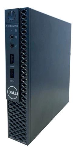 Desktop Dell Optiplex 3060 Micro I5-8500t 8gb 500gb Linux