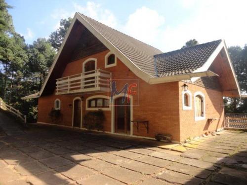 Imagem 1 de 13 de Ref  5443  Linda Casa 4 Dorms Sendo 2 Suites, Lareira, Jd Manancial C.do Jordao! - 5443