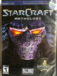 Star Craft Antholgy Para Pc Como Nuevo