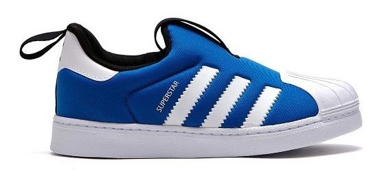 Zapatillas adidas Superstar 360 Azules Niños Originales
