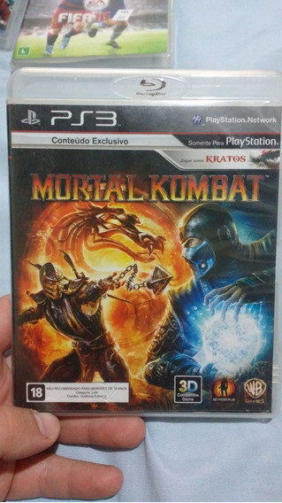Mortal Kombat(leia) - Mídia Física - Ps3