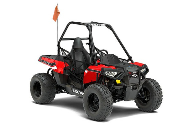 Polaris Ace 150 Efi Indy Red Llerandi Polaris
