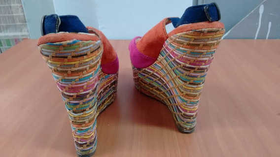 Sandalias Para Dama Plataforma