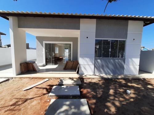 Imagem 1 de 16 de Linda Casa No Solar Dos Cantarinos Com 3 Dormitórios À Venda, 130 M² Por R$ 450.000 - Recanto Do Sol - São Pedro Da Aldeia/rj - Ca1613
