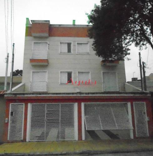 Cobertura Com 2 Dormitórios À Venda, 40 M² Por R$ 320.000,00 - Parque Erasmo Assunção - Santo André/sp - Co0703