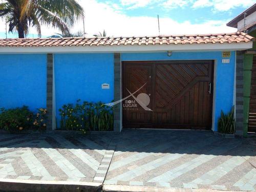 Imagem 1 de 25 de Casa Em Itanhaém, Jardim Valéria - V5036