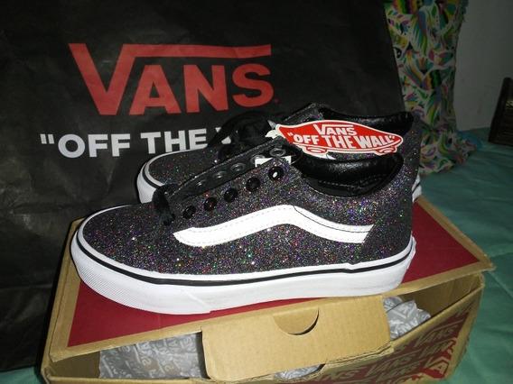 Vans Old Skool Glitter . Nuevas Originales.
