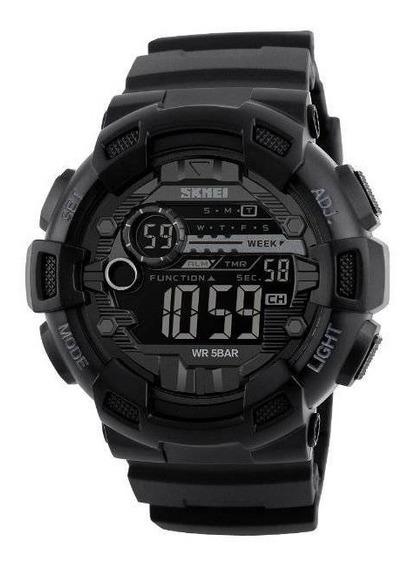 Relógio Skmei Masculino Digital Preto