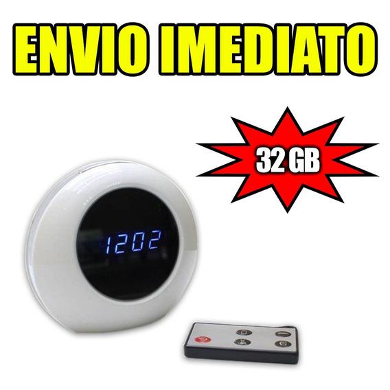 Camera Escondida Para Casa E Gravador Espiao Seguranca 32gb