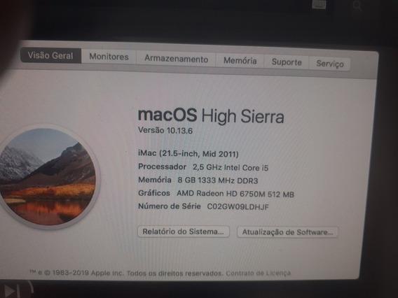 Vendo iMac Core I5
