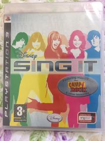 Jogo Sing It Ps3 Disney