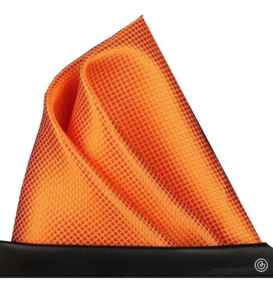 Pañuelo De Bolsillo Para Traje De Hombre Grin Accs Naranja