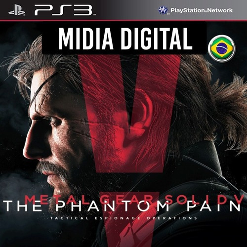 Metal Gear Solid V The Phantom Pain - Ps3 Psn*