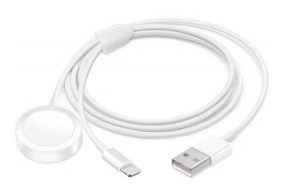 2 En 1 Ver Cable De Carga Inalámbrico Para iPhone Y Iwatch C