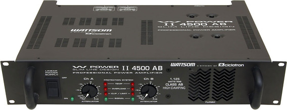Amplificador Power 4500 (1125 W Rms) Ciclotron
