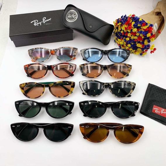 Óculos De Sol Gatinho Ray Ban Rb 4314 Nina Original Ultimas
