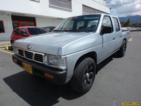 Nissan D-21 Doble Cabina Y Platon
