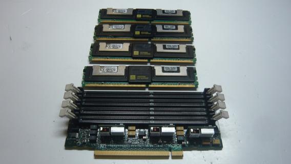 Kit 8gb 4x2 Ddr2 Para Servidor + Expansor De Memoria!!!