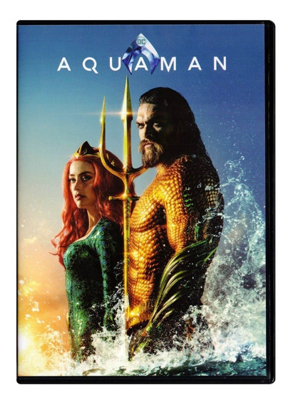Aquaman Jason Momoa Pelicula Original Dvd
