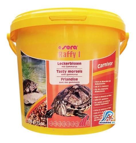 Imagen 1 de 2 de Alimento Gammarus Para Tortugas Acuáticas. Sera Raffy I 370g