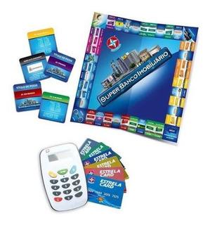 Super Banco Imobiliário Com Cartão Estrela - Colorido