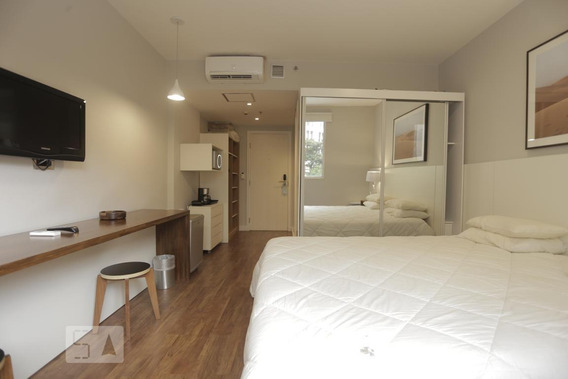 Apartamento Para Aluguel - Santa Cecília, 1 Quarto, 24 - 893018752