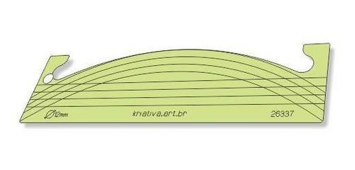 Imagem 1 de 5 de Régua Onda Para Quilting - Pé De Máquina 12 Mm - 26337
