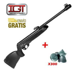 Rifle Aire Comprimido Gamo Black Bear Igt Nitro Piston Caza
