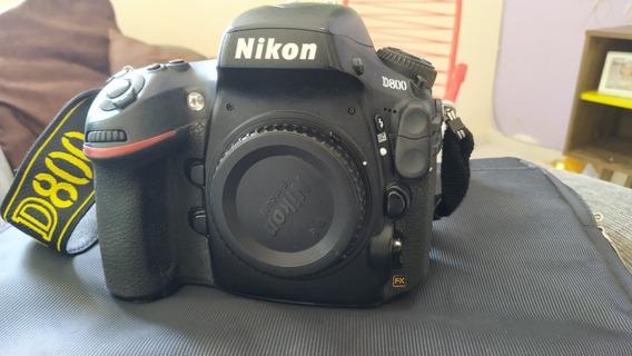 Câmera Nikon D800 Fullframe