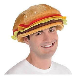 Sombrero De Hamburguesa Con Queso - Headwear