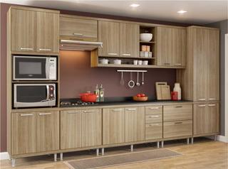 Cozinha Completa Multimóveis Com 9 Peças Sicília 5833
