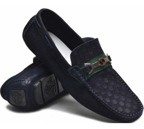 Mocassim Sapatilha Sapato Gucci Masculino Original Envio Já